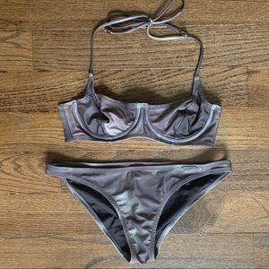 Insight Gray Tie Dye Bikini • size 4/6